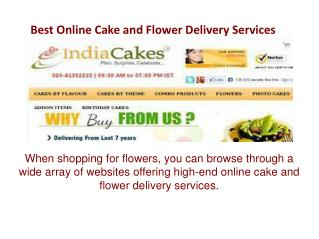 Best Online Cake and Flower Delivery Services