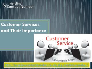 Customer Services and Their Importance