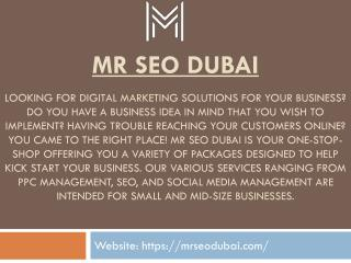 Best SEO Company In Dubai