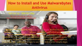 Malwarebytes customer support number 1800-953-0960