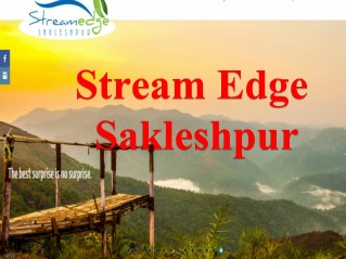 Book Best Resort in Sakleshpur for a Terrific Vacation Trip