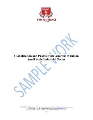 Phd literature review sample