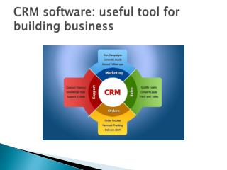 CRM software: useful tool for building business