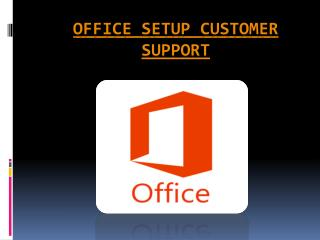 Visit office.com/setup to install office setup