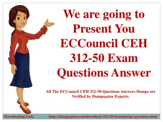 New 2018 ECCouncil CEH 312-50 Exam Questions Dumps
