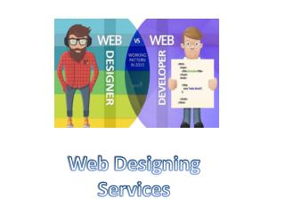 Web Designing and Web Development Services Hyderabad