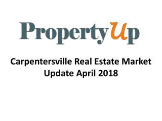 Carpentersville Real Estate Market Update April 2018