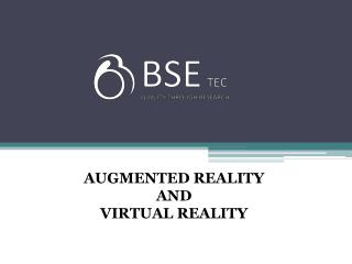 Augmented Reality and Virtual Reality Development