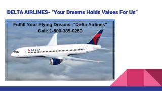 Phone Number For Delta Airlines