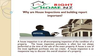 Why Are House Inspections And Building Report Important?