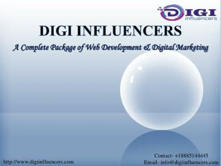 About Digi Influencers | Best Digital Marketing Company in New Jersey
