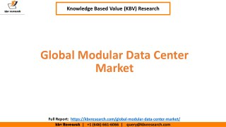 Global Modular Data Center Market Size