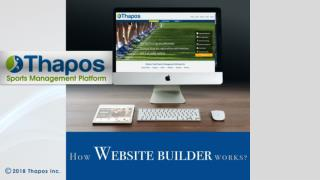 Sports Website Builder Software | Create your own Website Free