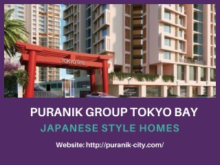 Puranik Group Tokyo Bay