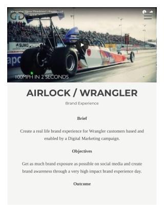 AIRLOCK WRANGLER - G&D Events