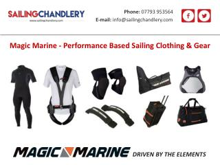 Magic Marine - Performance Based Sailing Clothing & Gear