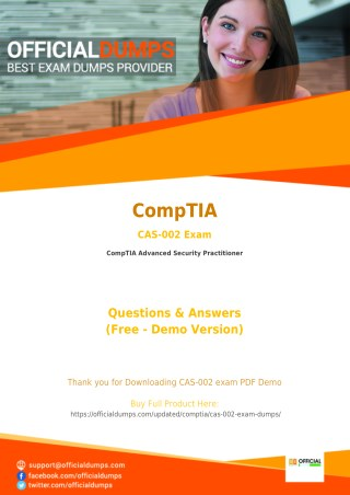 CAS-002 Exam Questions - Are you Ready to Take Actual CompTIA CAS-002 Exam?