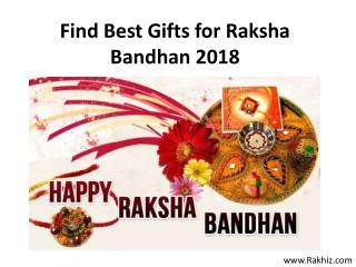 Find Best Gifts for Raksha Bandhan