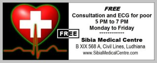Free Consultation and ECG for Poor.