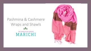 Pashmina & Cashmere Wraps and Shawls