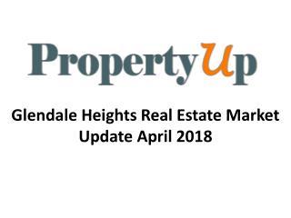 Glendale Heights Real Estate Market Update April 2018