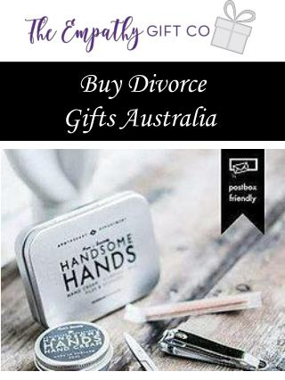 Buy Divorce Gifts Australia