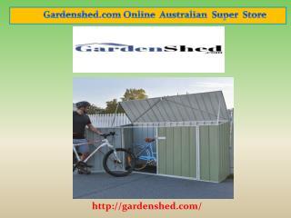 Top Durable Garden Sheds, Timber Sheds Online Sale.