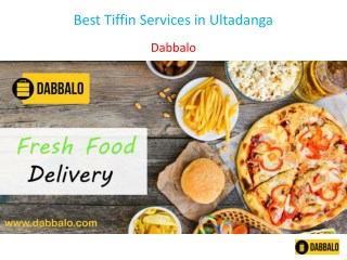 Best Tiffin Services in Ultadanga