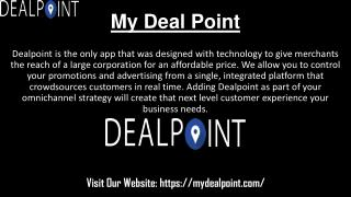 Deal Point Find Promotions Deals easily