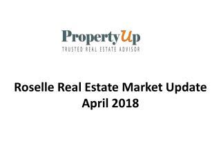 Roselle Real Estate Market Update April 2018.