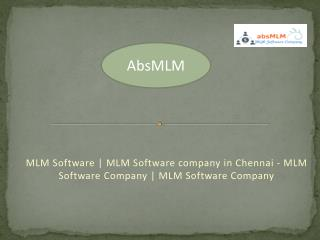 MLM Software | MLM Software company in Chennai - MLM Software Company