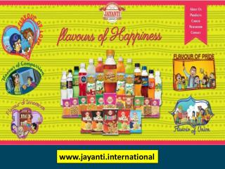 Jayanti, Jaynti international, Jayanti Group, Jayanti Snacks