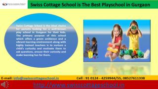 Best Pre school In Gurgaon Geared Towards The Holistic Development Of Your Child