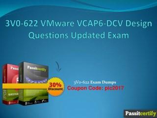 3V0-622 VMware VCAP6-DCV Design Questions Updated Exam