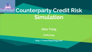 Introduction to Counterparty Credit Risk Simulation