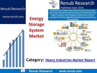 Energy Storage System Market to be more than US$ 21 Billion by 2024
