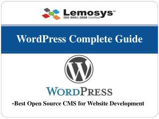 The Ultimate WordPress Guide 2018 – Lemosys