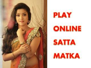 PLAY SATTA MATKA ONLINE