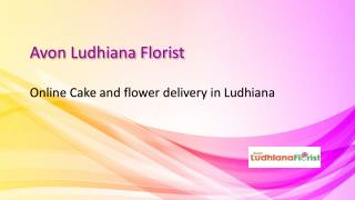 Online Cake and flower delivery in Ludhiana