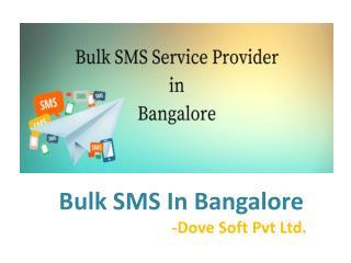 Bulk SMS In Bangalore