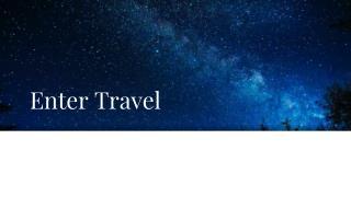 Entertainment- Production Travel