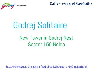 Godrej Solitaire New Housing Project At Sector 150 Noida