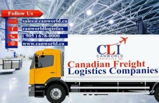 Canadian Freight Logistics Companies