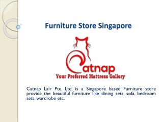 Furniture store singapore