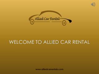 Pune to Mumbai Cab & Taxi Service - Allied Car Rental