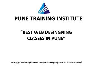 Best Web Designing Courses- Classes in Pune | Web Designing Training in pune | Pune Training Institute