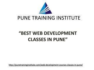 - Best Web Development Courses- Classes- Institutes in Pune | Pune