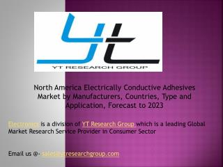 North America Electrically Conductive Adhesives Market by Manufacturers, Countries, Type and Application, Forecast to 20