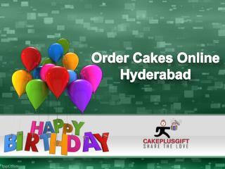 Order Cake Online Hyderabad, Cakes Delivery in Hyderabad - Cakeplusgift