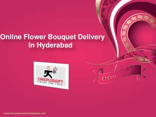 Flower Delivery Hyderabad, Flower Bouquet Delivery Hyderabad - Cakeplusgift